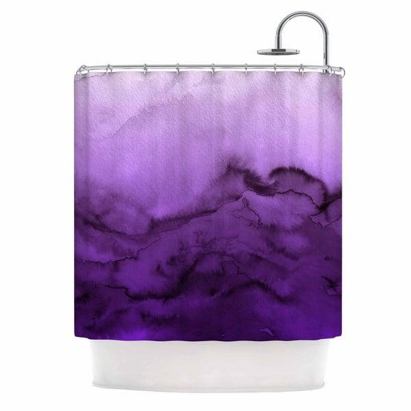 KESS InHouse Ebi Emporium 'Winter Waves 9' Shower Curtain (69x70)