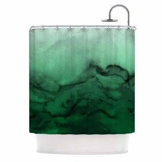 KESS InHouse Ebi Emporium 'Winter Waves 7' Shower Curtain (69x70)
