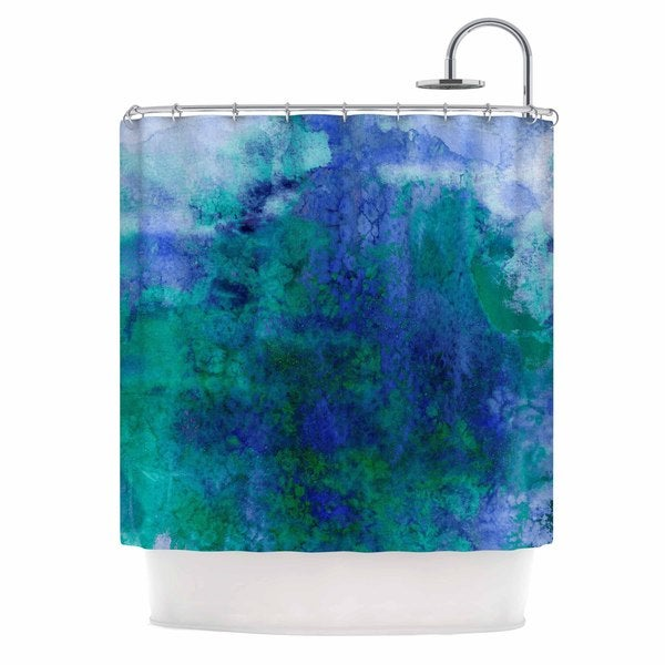 KESS InHouse Ebi Emporium 'Epoch 2' Shower Curtain (69x70)