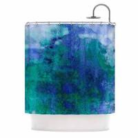 KESS InHouse Ebi Emporium 'Epoch 2' Shower Curtain (69x70)
