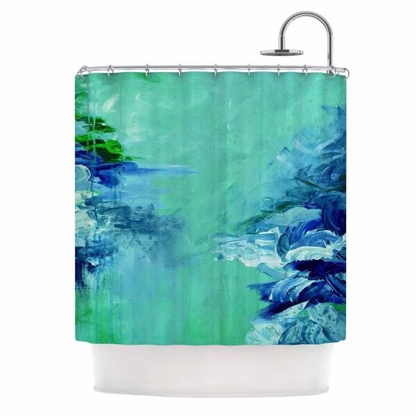 KESS InHouse Ebi Emporium 'Winter Dreamland 6' Shower Curtain (69x70)