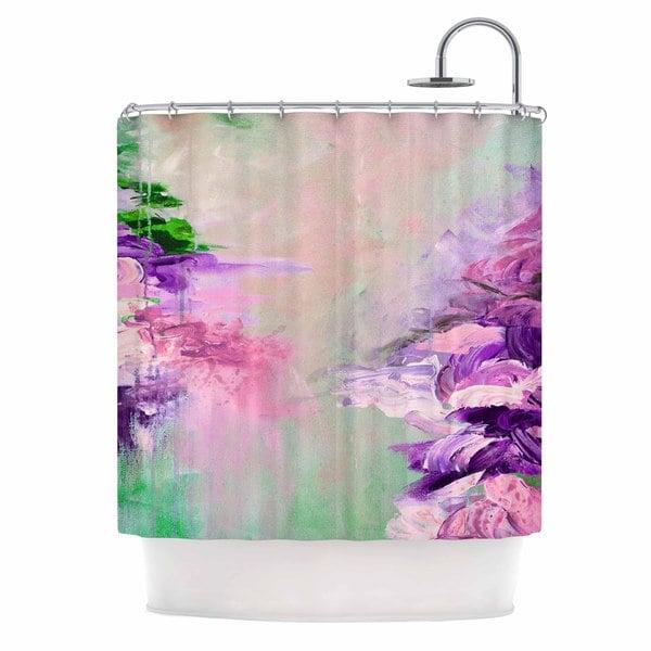 KESS InHouse Ebi Emporium 'Winter Dreamland 4' Shower Curtain (69x70)