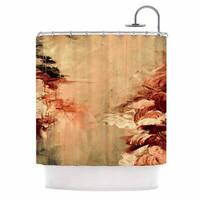 KESS InHouse Ebi Emporium 'Winter Dreamland 7' Shower Curtain (69x70)