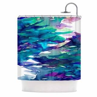 KESS InHouse Ebi Emporium 'Fervor 5' Shower Curtain (69x70)