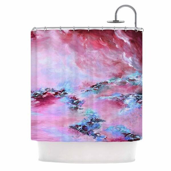 KESS InHouse Ebi Emporium 'Sea To Sky 3' Shower Curtain (69x70)