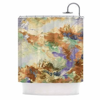 KESS InHouse Ebi Emporium 'When We Were Mermaids 10' Shower Curtain (69x70)