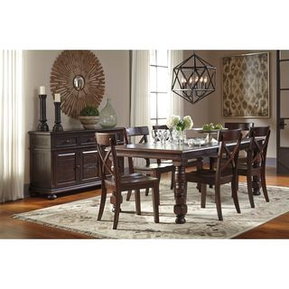 Signature Design by Ashley Gerlane Brown Dining Room Table
