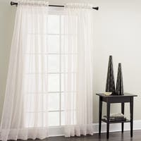 Croscill White Sheer Mist Window Panel - 40 x 84
