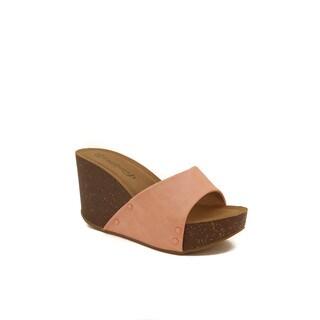 Hadari Women's Wedge Sandal