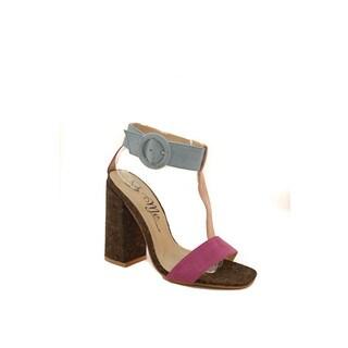 Hadari Women's T-Strap Heels