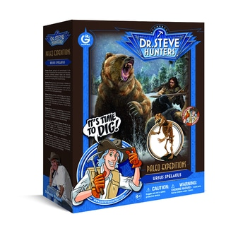 Geoworld Dr. Steve Hunters Paleo Expeditions Ursus Spelaeus Dino Excavation Kit