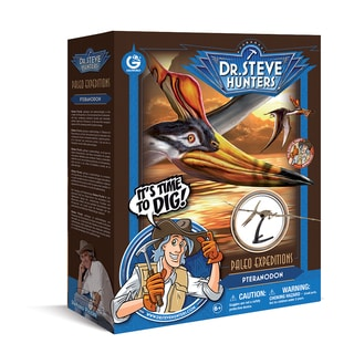 Geoworld Dr. Steve Hunters Paleo Expeditions Pteranodon Dino Excavation Kit