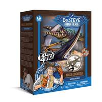 Geoworld Dr. Steve Hunters Paleo Expeditions Mosasaurus Dino Excavation Kit