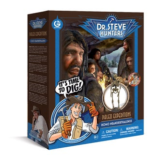 Geoworld Dr. Steve Hunters Paleo Expeditions Homo Neanderthalensis Dino Excavation Kit