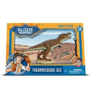 Geoworld Dr. Steve Hunters Medium Jurassic Action T. Rex