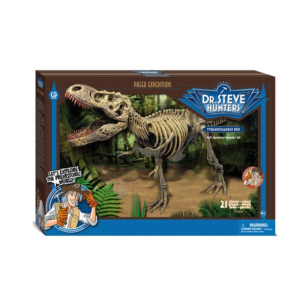 Geoworld Dr. Steve Hunters T. Rex Paleo Expeditions Kit
