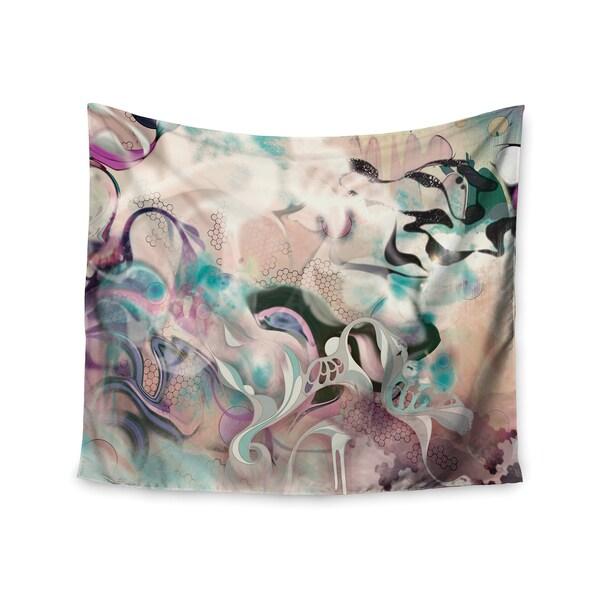 KESS InHouse Mat Miller 'Fluidity' 51x60-inch Tapestry