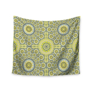 KESS InHouse Miranda Mol 'Multifaceted Flowers' 51x60-inch Tapestry