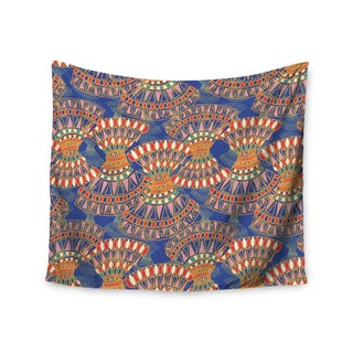 KESS InHouse Miranda Mol 'Energy' Orange Blue Abstract 51x60-inch Tapestry