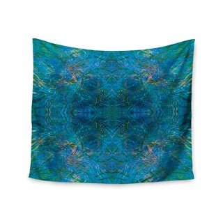 KESS InHouse Nikposium 'Clearwater' Blue Teal 51x60-inch Tapestry