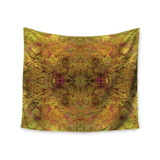 KESS InHouse Nikposium 'Goldenrod' Gold Yellow 51x60-inch Tapestry