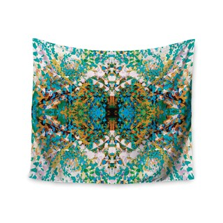 KESS InHouse Nikposium 'Summer Breeze' Blue Teal 51x60-inch Tapestry