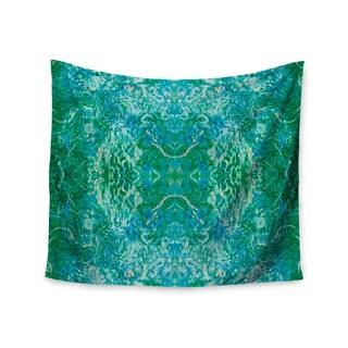 KESS InHouse Nikposium 'Eden' Teal Green 51x60-inch Tapestry