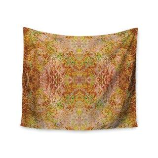 KESS InHouse Nikposium 'Goldenrod II' Yellow Gold 51x60-inch Tapestry