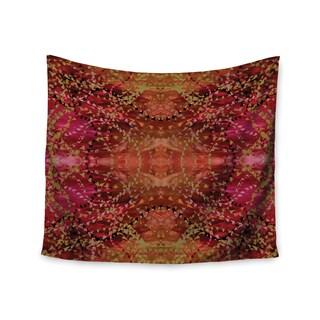 KESS InHouse Nikposium 'Summer' Red Orange 51x60-inch Tapestry