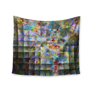 KESS InHouse Michael Sussna 'Yggdrasil' Rainbow Abstract 51x60-inch Tapestry