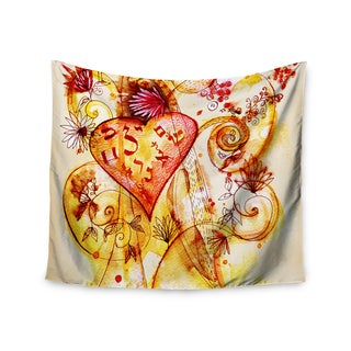 KESS InHouse Marianna Tankelevich 'Tree of Love' 51x60-inch Tapestry