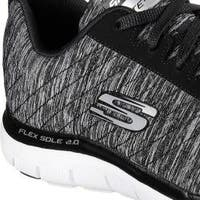 Women's Skechers Flex Appeal 2.0 Training Sneaker Black/White