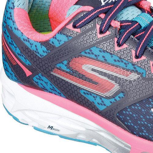 f96e8149d737fe Shop Women's Skechers GOrun Forza Running Shoe Navy/Hot Pink - Free  Shipping Today - Overstock - 11920702