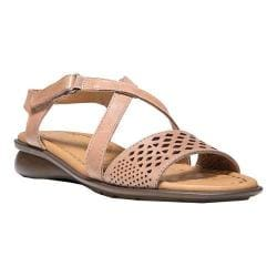 Women's Naturalizer Janessa Ankle Strap Sandal Ginger Snap Hispacho Leather
