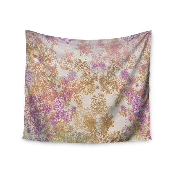 KESS InHouse Marianna Tankelevich 'Retro Summer' Yellow Pink 51x60-inch Tapestry