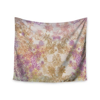 KESS InHouse Marianna Tankelevich 'Retro Summer' Yellow Pink 51x60-inch Tapestry