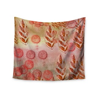 KESS InHouse Marianna Tankelevich 'Summer Music' Red Orange 51x60-inch Tapestry