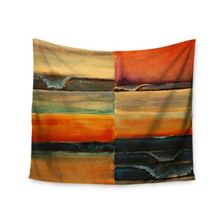 KESS InHouse Nathangibbsart 'Fournication' Orange Coastal 51x60-inch Tapestry
