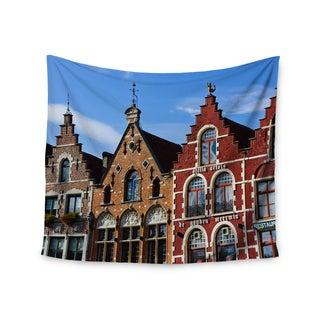 "Kess InHouse Ann Barnes ""Inbruges"" City Street Wall Tapestry 51'' x 60''"
