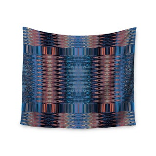 KESS InHouse Nina May 'Larina Nueva Sky' Blue Orange 51x60-inch Tapestry