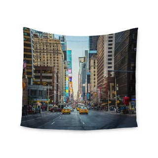 Kess InHouse Ann Barnes 'Sunset Over 7th' Urban Photography 51x60-inch Wall Tapestry