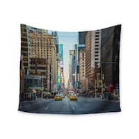 "Kess InHouse Ann Barnes ""Sunset Over 7th"" Urban Photography Wall Tapestry 51'' x 60''"