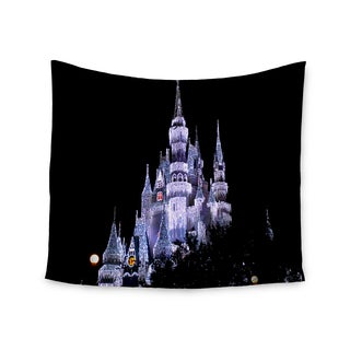 Kess InHouse Philip Brown 'Frozen Castle' 51x60-inch Wall Tapestry