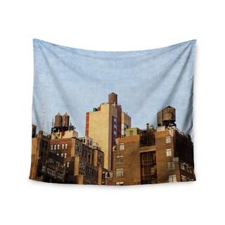 "Kess InHouse Ann Barnes ""Vintage NYC"" Cityscape Wall Tapestry 51'' x 60''"