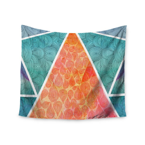 Kess InHouse Pom Graphic Design 'Pyramids of Giza' 51x60-inch Wall Tapestry