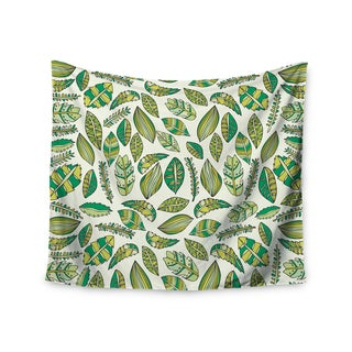 Kess InHouse Pom Graphic Design 'Tropical Botanicals' 51x60-inch Wall Tapestry