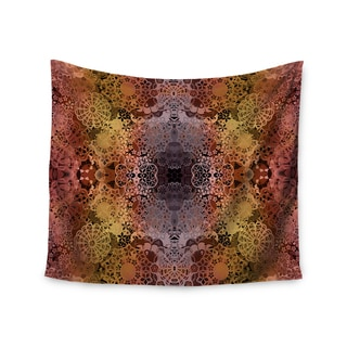 Kess InHouse Pia Schneider 'Floral Fall Pattern' 51x60-inch Wall Tapestry