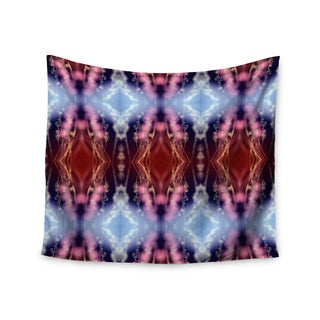 Kess InHouse Pia Schneider 'Abstract Floral' 51x60-inch Wall Tapestry
