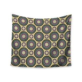 "Kess InHouse Mydeas ""Patio Decor"" Yellow Teal Wall Tapestry 51'' x 60''"