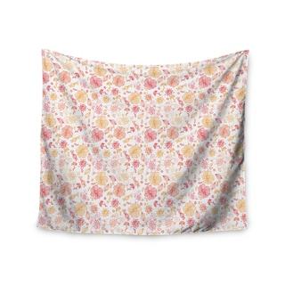 "Kess InHouse Alisa Drukman ""Summer Line"" Yellow Illustration Wall Tapestry 51'' x 60''"